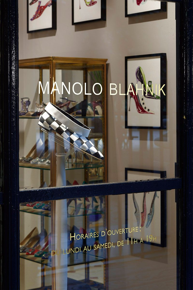 Manolo Blahnik – Palais Royal, Paris |  David Thomas Design / Architect